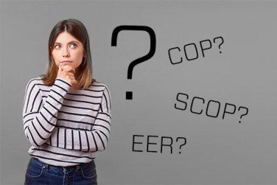 Hiệu suất năng lượng EER và COP là gì?